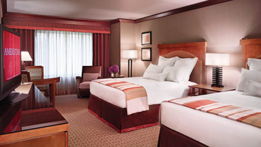 Double Queen Room at the Ameristar Casino Black Hawk